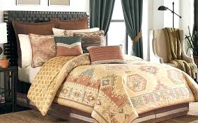 outstanding rustic bedding sets lodge log cabin within modern quilt