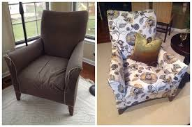 Before & After: My first reupholstery project.
