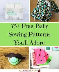 Free Baby Sewing Patterns Enchanting 48 Free Baby Sewing Patterns You'll Adore AllFreeSewing