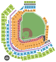 Pnc Park Pirates Seating Chart Pnc Park Seating Chart Pittsburgh