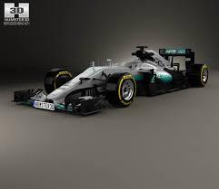 Mercedes-Benz AMG W07 F1 2016 3D model - Hum3D