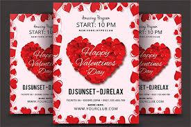 Valentines Flyers 15 Valentines Day Love Flyer Templates Graphics Design