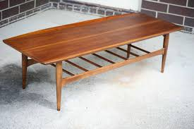 Famous Coffee Table Designers Mid Century Coffee Table Design Home Furniture Boomerang Slat Thippo