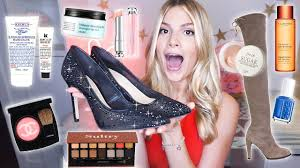 winter favorites 2019 fashion makeup skincare haircare more