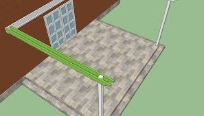 How to build a pergola attached to the house   HowToSpecialist    Building an attached pergola