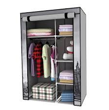 amazing portable closet with shelf willpower clothes storage organizer wardrobe sanctionedviolencegear door lock mirror sliding shoe