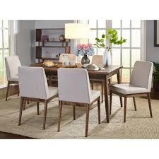 modern wood dining room sets: simple living element mid century dining set