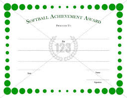 Free Printable Softball Certificates Free Download Beautiful Softball Certificate Templates For Your