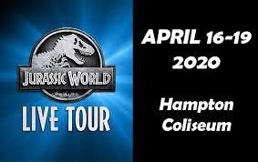 Jurassic World Live Tour This Is Hampton Virginia This