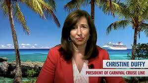 Check spelling or type a new query. Carnival Cruise Line President Christine Duffy Shares Video Update Travelpulse