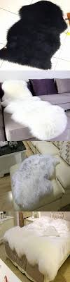 plain area rugs inspirational sheepskin rug chair cover pad carpet plain skin fur fluffy area rugs