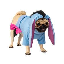 Rubies Dog Costume Size Chart Winnie The Pooh Eeyore Dog Costume By Rubies X Large