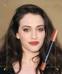 kat denning s plum brown lipstick