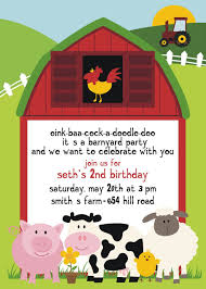 Invites Birthday Party Free Printable Barnyard Farm Invitation Template Like This Item