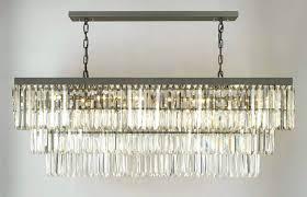 chandeliers rectangular crystal chandelier canada g902 1156 12 gallery closeout retro odeon glass fringe rectangular