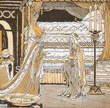 princess and the pea illustration. Exellent Pea The Princess And Pea 1923 Childrenu0027s Illustration  By  SurrendrDorothy Inside C