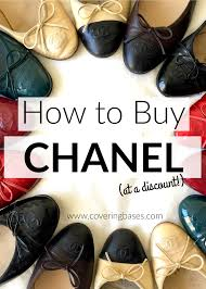 Chanel Ballerina Flats Size Chart How To Buy Chanel Flats At A Discount New York City