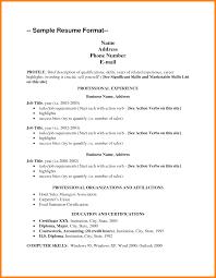7+ resume skills list example