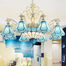9 11 lights conical hanging chandelier