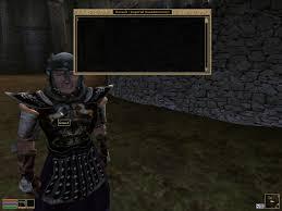 Console Commands Morrowind Elder Scrolls Fandom