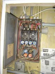 11 things to inspect before buying a home real estate blog wiring they are costly to upgrade and a lot of lenders and insurance companies require the upgrade 60 amp fuse panel and knob and tube images below