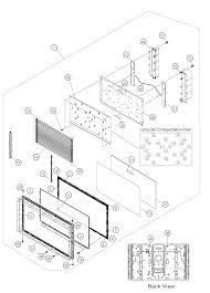 Sharp lcd television parts model lc60e88un sears partsdirect toshiba wiring diagrams 50hm66 television