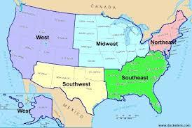 United States Geography Regions