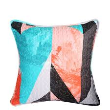 colorful throw pillows.  Colorful Designer Modern Cotton Couch Throw Pillows Gray Colorful Pillow Core Not  Included With W