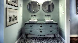 image unique bathroom. A Dresser Is Repurposed As Unique Bathroom Vanity Image