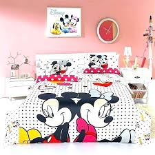 mouse bedroom set toddler bedding mickey and comforter disney clubhouse twin tod