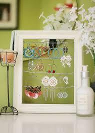 shabby chic dangly earring display holder
