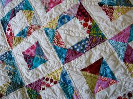 Gemstone block {tutorial} — Stitched in Color & { geometric squares quilt } Adamdwight.com