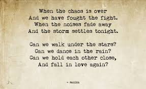 Can We Fall In Love Again And I Stumbled Over Life Mesmerizing Love Under The Stars Quotes