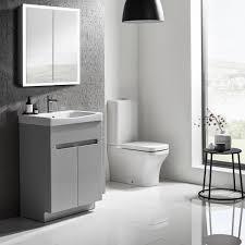 roper rhodes diverge grey 600mm freestanding unit basin vanity unit sanctuary bathrooms