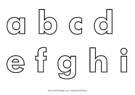 Abc Book Printable Blank Alphabet Template Lettering How Can You