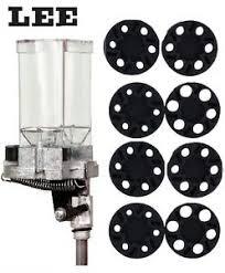 Details About Lee Precision Auto Disk Powder Measure Double Disk Kit 90578 90195 New