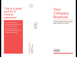 3 column brochure business tri fold brochure office templates