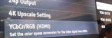 sony ubp x1000es. sony ubp-x1000es ultra hd blu-ray player cedia 2016 impressions screen settings ycbcr ubp x1000es u