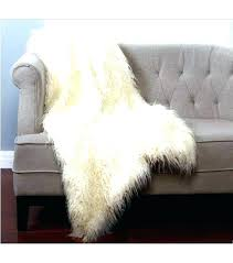 fur rug faux best sheepskin furniture amp home decor images on mongolian sheep throw blush