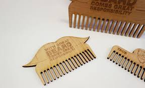 wooden beard combs
