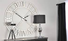 Small Picture Winsome Oversized Wall Clocks Modern 129 Modern Big Wall Clocks