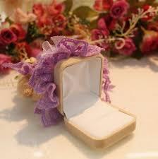 Decorative Ring Boxes Fabric Decorative Velvet Ring Box for Wholesaleid100 17