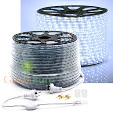 2 Wire Led Lights Us 56 23 26 Off Cool White 20 50m M36 Leds M 2 Wire Led Strip Light Home Garden Xmas Lamp 220v Waterproof Ip68 Led Strip Light With Power Line In