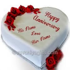 Heart Shaped Anniversary Cake Vavuniya Gifts