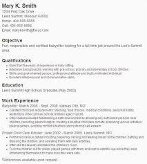 Nanny Resume Extraordinary High School Graduation Requirements New Nanny Responsibilities On