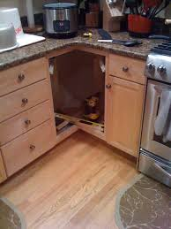 Drawers Or Cabinets In Kitchen Diy Corner Cabinet Drawers Home Design Garden Architecture
