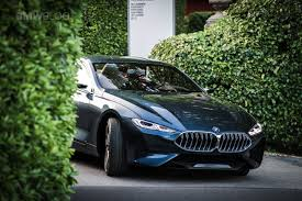 Here is another real life look at the BMW Concept 8 Series