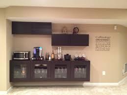 office coffee bar furniture. coffee bar using ikea besta cabinets office furniture