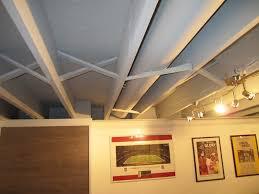 basement ceiling lighting ideas. Track Light Fixtures Installed On Basement Ceiling Lighting Ideas A