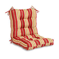 greendale home fashions outdoor seat back chair cushion patio roma stripe kitchen affordable office chairs shiatsu